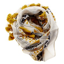 Betty - Foulard - senape