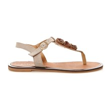 INFRADITO IN CROSTA - Chanclas - beige