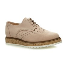 Crissy Lace Up - Derby in pelle - grigio