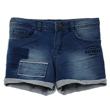 bolie17 - Short - denim bleu