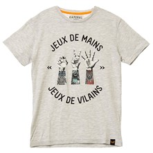 mavide17 - T-shirt - gris clair