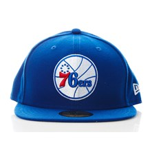 59Fifty 76ers - Pet - blauw