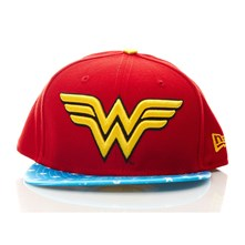Wonder Woman - Casquette - rouge
