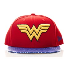 Wonder Woman - Casquette - bordeaux