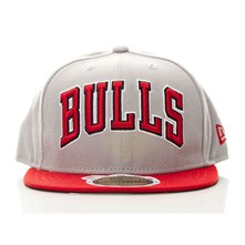 59Fifty Bulls - Pet - grijs