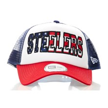 Trucker Steelers - Pet - blauw