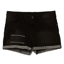 bolie17 - Shorts - denimschwarz