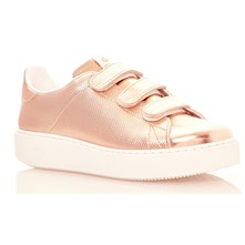 DEPORTIVO BASKET VELCRO SINTETICO METALICO - Baskets - rose