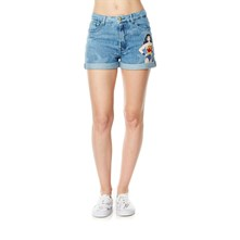 Short - denim azul