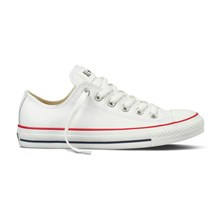 CHUCK TAYLOR OX WHITE - Ledersneakers - weiß