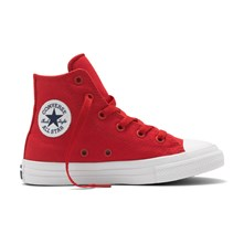 CHUCK TAYLOR ALL STAR II HI SALSA RED/WHITE/NAVY - Halfhoge sneakers - rood