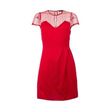 Rivala - Robe courte - rouge