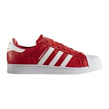 Superstar - Sneakers in pelle - rosso
