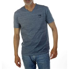L.Chambray - Camiseta - azul