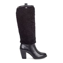 Ava Exposed Fur - Botas - negro