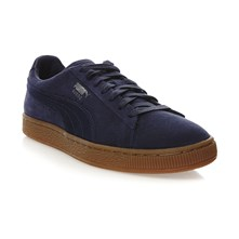Suede Classic - Gympen - donkerblauw