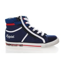 BILLAL - Sneakers alte - blu scuro