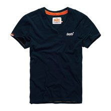 Orange Label - Lote de 2 camisetas - azul marino