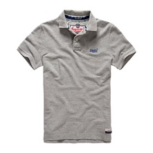 Classic Pique - Polo - gris chine
