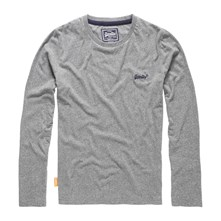 Orange Label - Pull - gris chine