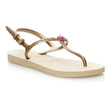 HAV. KIDS FREEDOM SAND GOLD 35/36 - Teenslippers - zandkleur