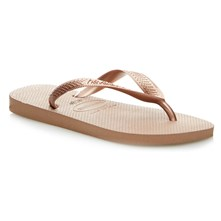 HAV. TOP TIRAS ROSE GOLD 41/42 - Chanclas - marrón