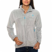Uniflore - Sweat polaire - gris clair