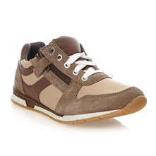 Sneakers in pelle - marrone