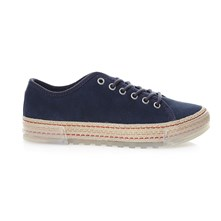 BELLA - Sneakers in pelle scamosciata - blu scuro
