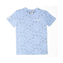 Palm springs - T-Shirt - blau