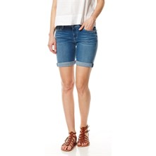 Poppy - Short - denim azul