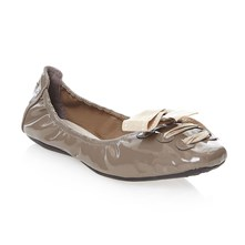 JABLY - Ballerina's - taupe