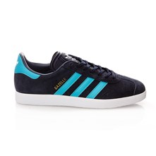 Gazelle - Sneakers in pelle scamosciata - blu scuro