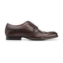 Bailey Grain Brown - Leren derbies - donkerbruin