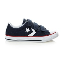 STAR PLYR 3V OX NAVY/WHT - Sneakers - marineblau