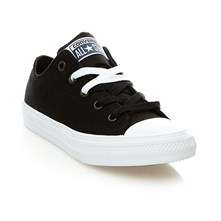 CHUCK TAYLOR ALL STAR II OX BLACK/WHITE/NAVY - Halfhoge sneakers - zwart