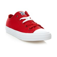 CHUCK TAYLOR ALL STAR II OX SALSA RED/WHITE/NAVY - Zapatillas - rojo