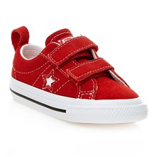 ONE STAR 2V OX RED/WHITE/BLACK - Sneakers - rosso