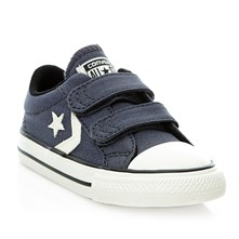 STAR PLAYER 2V OX SHARKSKIN/EGRET/BLACK - Halfhoge sneakers - marineblauw