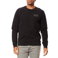 Sweatshirt - zwart denim