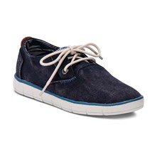 Race - Sneakers in misto pelle - blu scuro