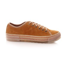 Bella - Sneakers in pelle - cognac