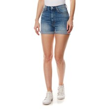 betty - Short vaquero - denim azul