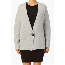 Siley - Strickjacke - grau