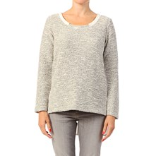 Crysto - Pullover - grau