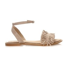 VMLUCA LEATHER SANDAL - Sandalias - café