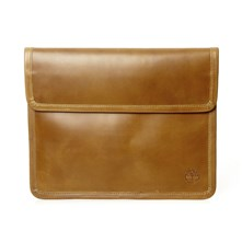 Pochette in pelle - marrone scuro