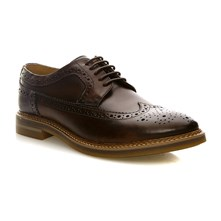 Turner Washed Brown - Zapatos de cuero - azul