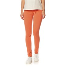 Jeans mit Slimcut - orange