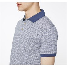 Marius - Polo - washed blauw